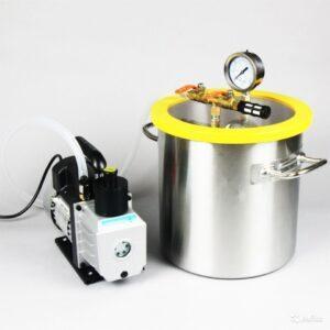 Элементы и датчики вакуумной системы - ловушки, патрубки и клапаны, арматура для вакуумных систем