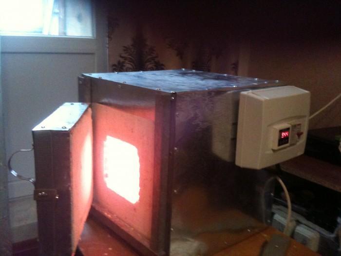 муфельная печь лабораторная